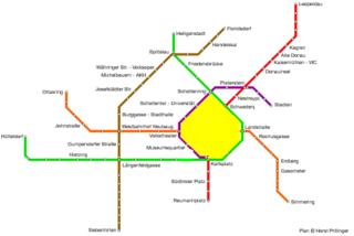 Vienna net loop shaded