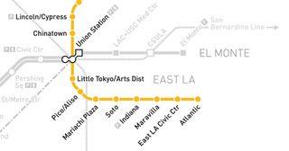 Metro-gold-line-map