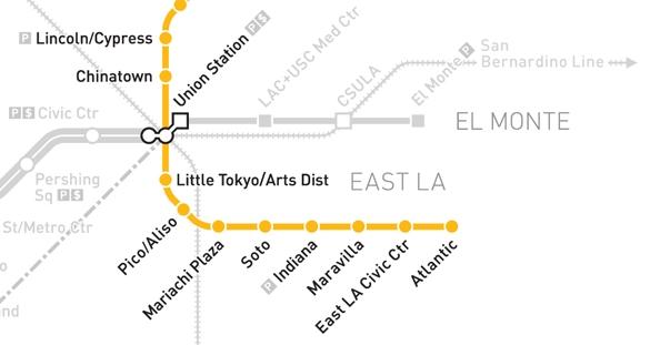 Metro gold line map publicscrutiny Gallery