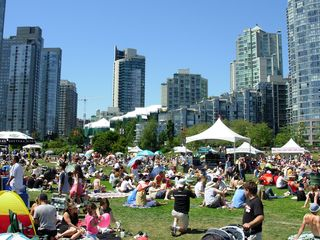 Jazz fest at yaletown