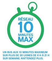 STM réseau 10 minutes max