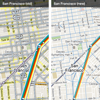 Google transit compare