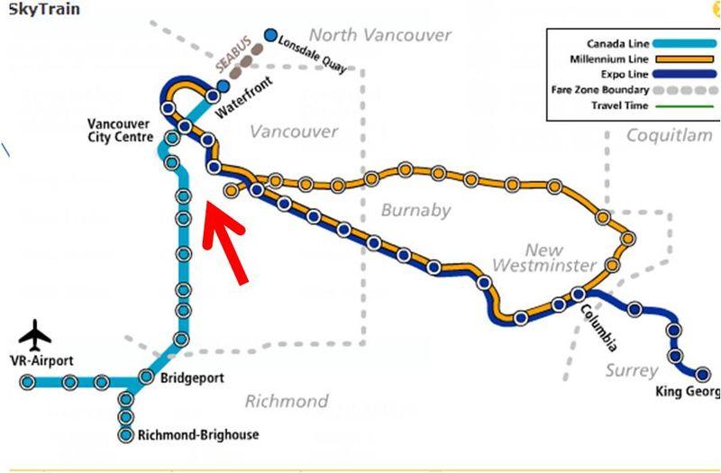 Skytrain gap