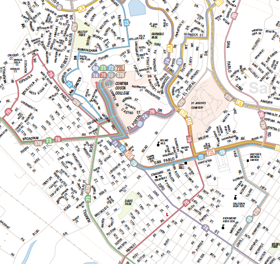 Ac Transit Map Guest Post: Aaron Priven on the AC Transit (Oakland Berkeley  Ac Transit Map