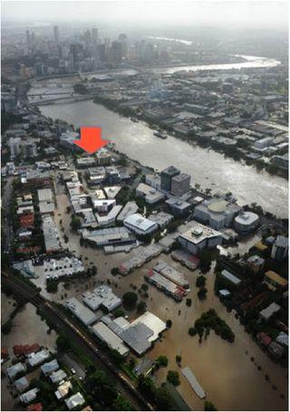 Milton flood