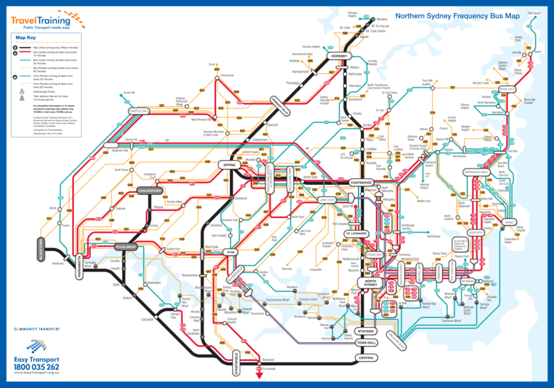 sydney new efforts at frequency mapping guest post Human Transit