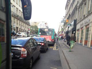 Bus lane livraison Ian Leighton