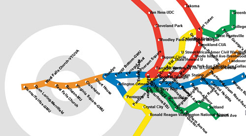 Real Dc Subway Map.Redistorting Maps The Virtue Of Cartograms Human Transit