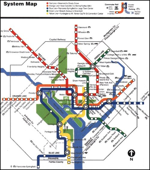 Dc Subway Map With Streets.Washington Dc Archives Page 2 Of 3 Human Transit