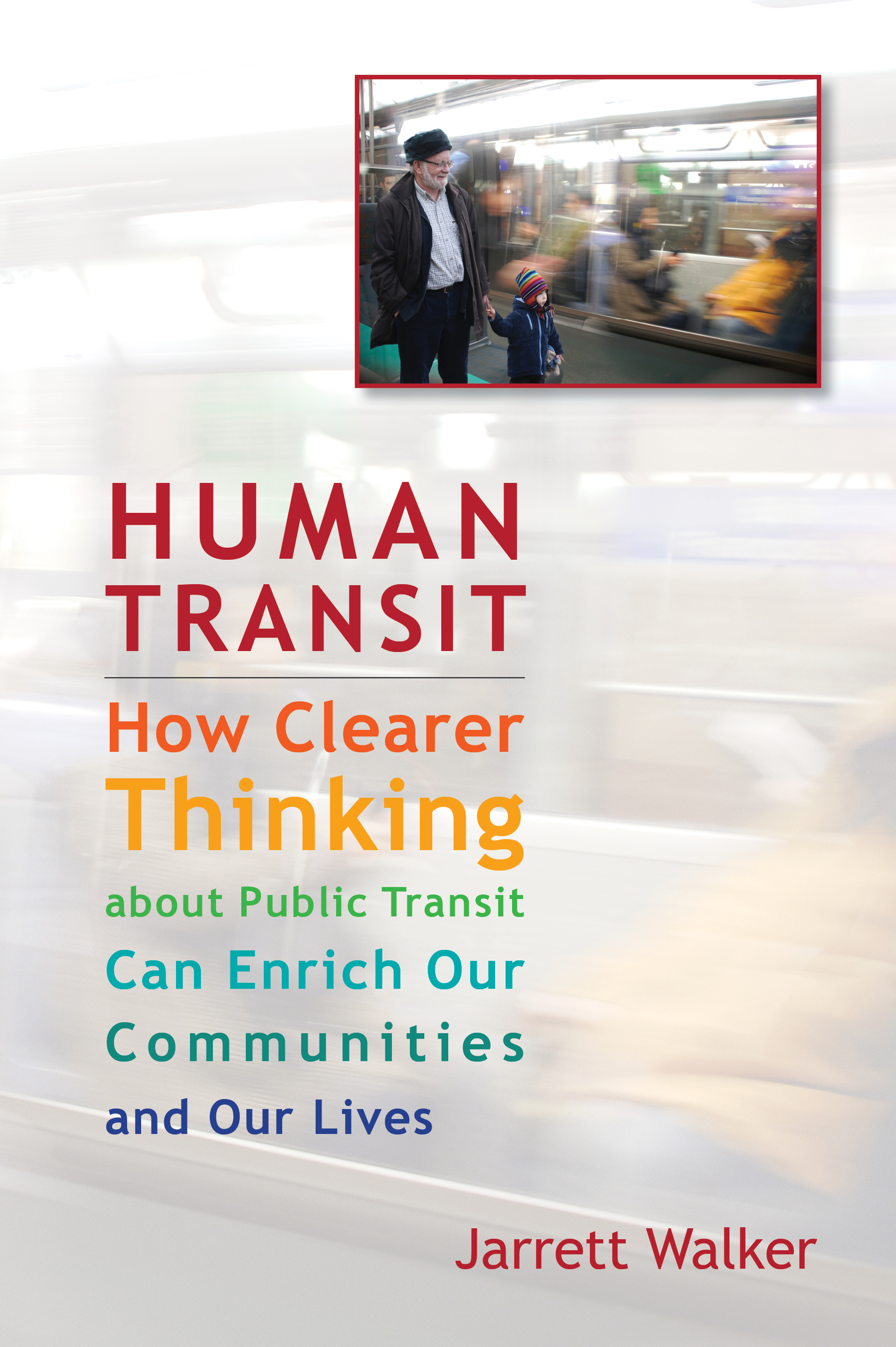 Book cover of Human Transit (the book)