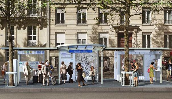 Paris station de bus du futur 1