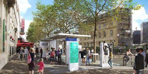 巴黎火车站的车站