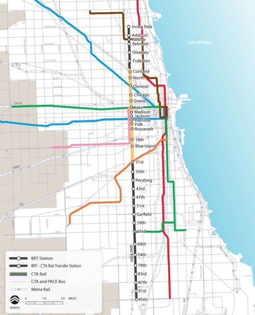 Transit Chicago Map.Chicago Archives Human Transit