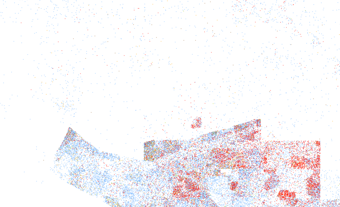Wash co racial dots