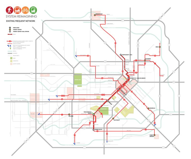 houston transit reimagined Human Transit