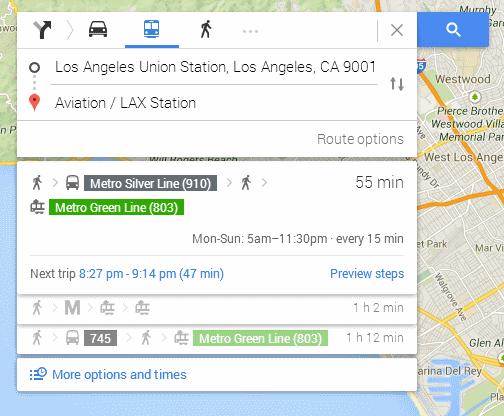 Good-transit-directions