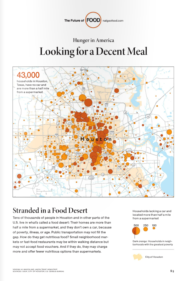 Houston food desert