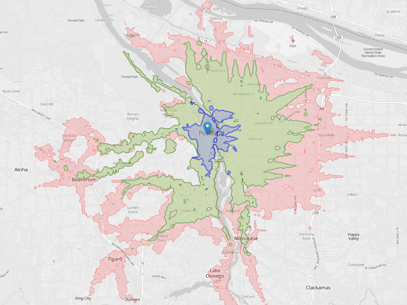 Portland_isochrone_downtown