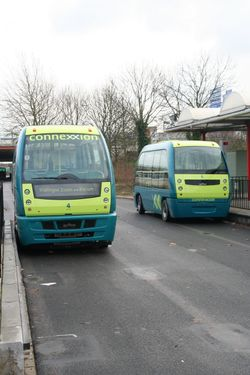 ParkShuttle-GRT-vehicles-at-Kralingse-Zoom-station