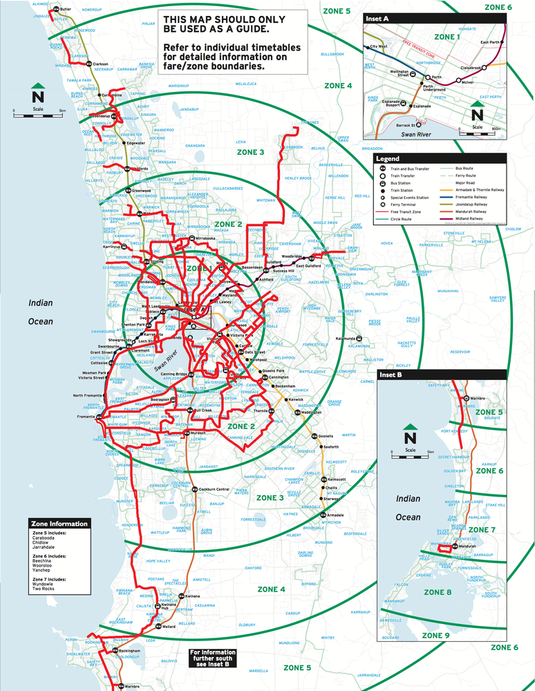 Perth frequent network